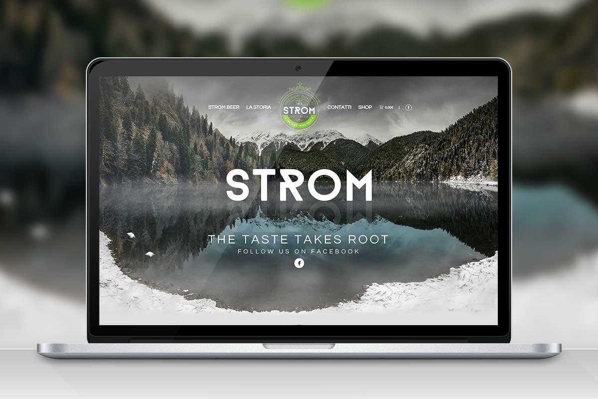 Strom Beer - Website
