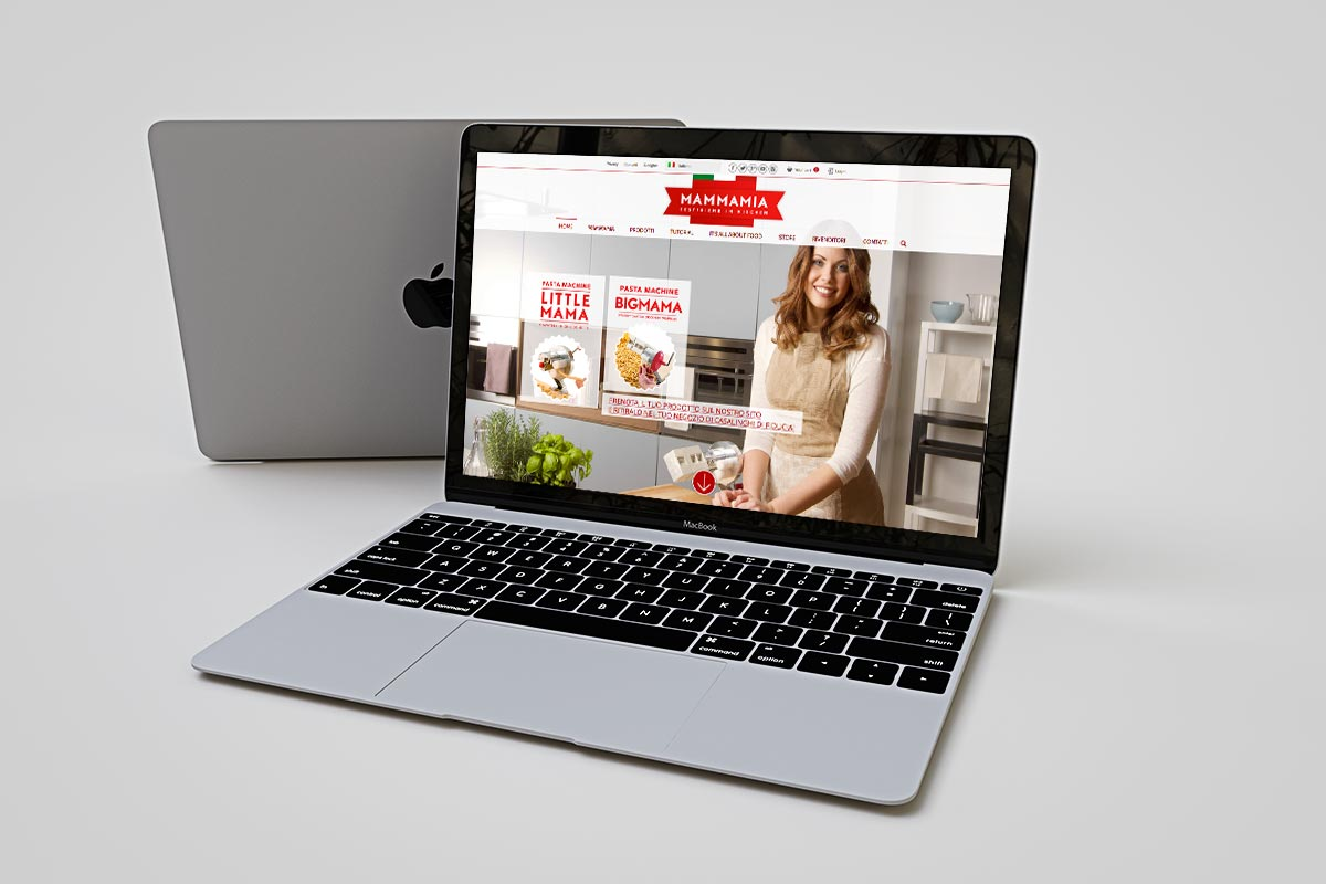 Mammamia Kitchen - Website