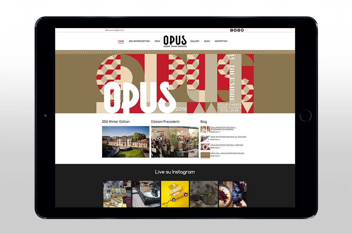 OPUS - Website