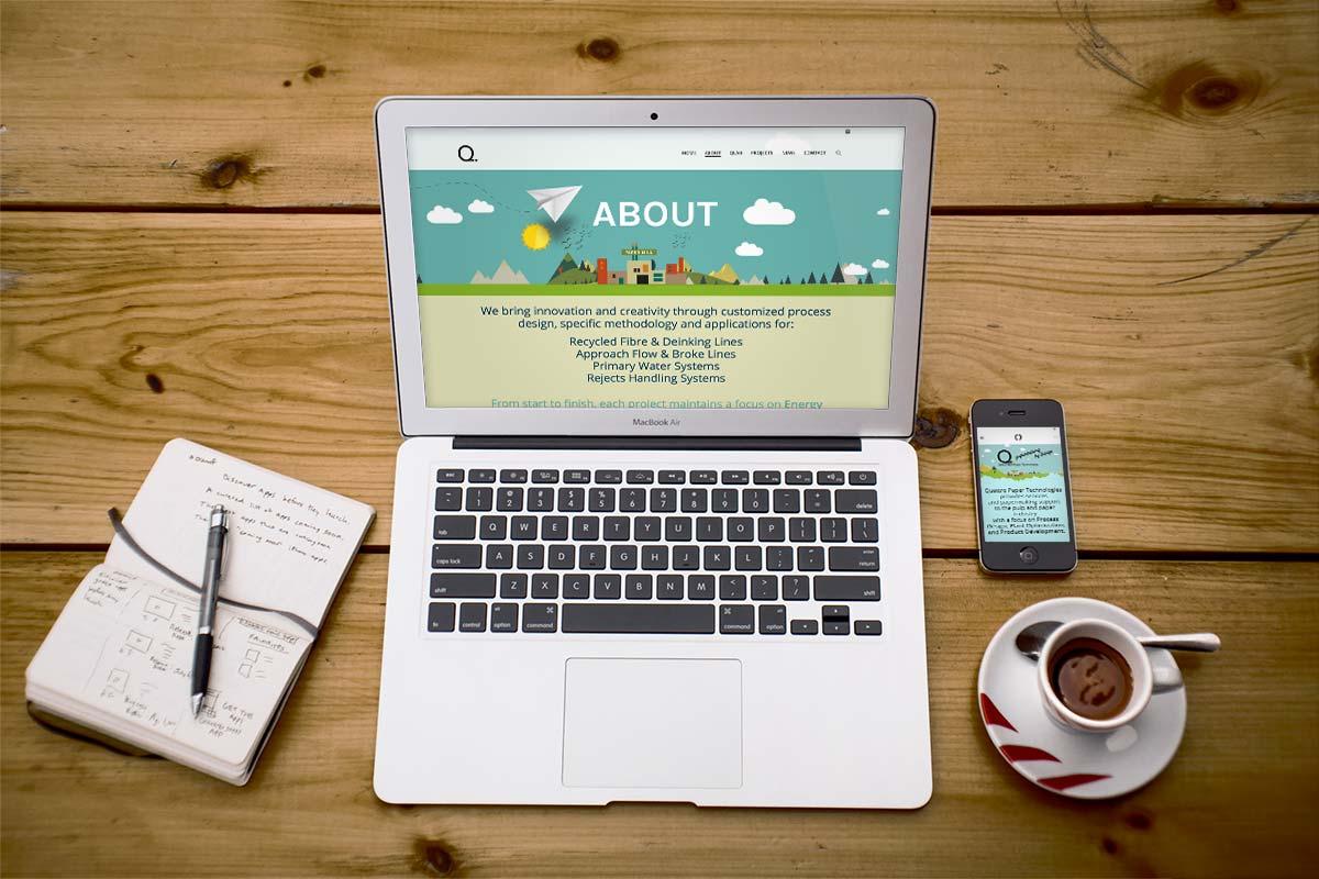 Quattro Paper - Website